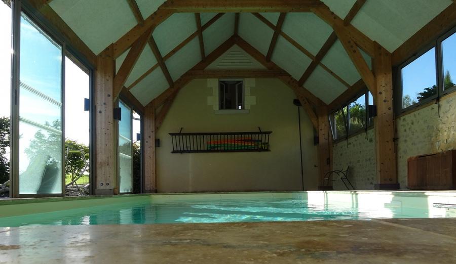 Magnifique demeure berrichonne gite de groupe centre for Centre de vacances avec piscine couverte