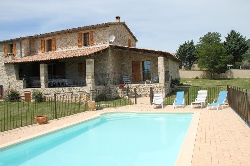 spacieux mas provenal avec piscine prive gite de groupe location maison - Hotel Drome Provencale Avec Piscine